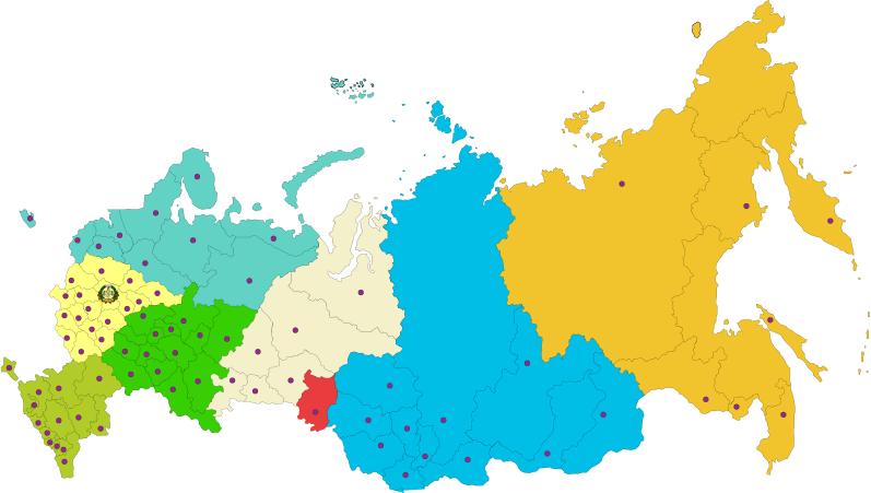 Карта филиалов 2de53