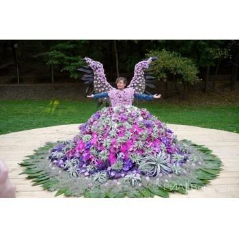 платье цветочное a7858